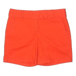 "NWT Ann Taylor LOFT Orange Rivera 6"" Inseam Shorts"